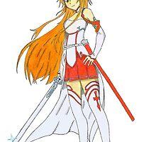 Asuna Yuki by James Douthwaite