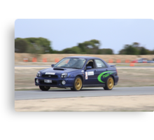 2014 Oz Gymkhana Round 1 - #21 Subaru WRX Canvas Print