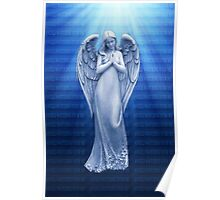 *•.¸♥♥¸.•*BLUE ANGEL RAYS OF LUV *•.¸♥♥¸.•*  Poster