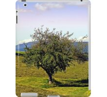 Fresh grass and old apple tree | landscape photography iPad Case/Skin