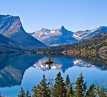 St Mary Lake, Glacier National Park, Montana, USA by Bryan D. Spellman