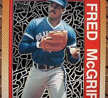 212 - Fred McGriff by Foob's Baseball Cards