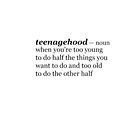 Teenagehood by loreendb