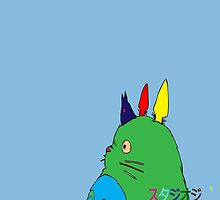Colourful Ghibli by jauntee