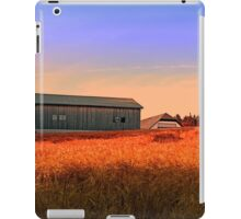 Burning fields of summer   landscape photography iPad Case/Skin