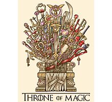 Throne of Magic Photographic Print