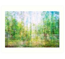 Average Forest  Art Print