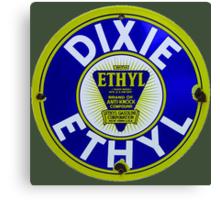 Dixie Ethyl Pump Plate Canvas Print
