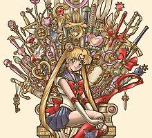 Throne of Magic - Sailor Moon by Gilles Bone