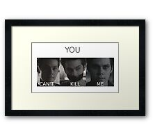 Void Stiles Framed Print
