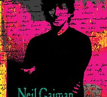 Neil Gaiman by FlyingSufi
