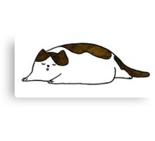 Let the Fat Cat Sleep Canvas Print