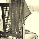 Chair and Scarf by Ellesscee