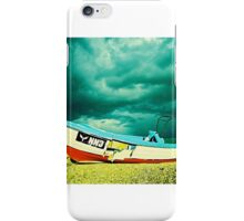 #boat at rest iPhone Case/Skin