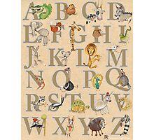 Animal ABCs Photographic Print
