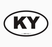 Kentucky KY Euro Oval by USAswagg