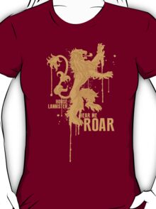 House Lannister Game of Thrones Shirt T-Shirt