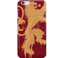 House Lannister Game of Thrones Shirt iPhone Case/Skin
