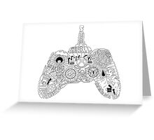 Controller Collage Greeting Card