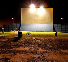Drive in Theater by Gina Carra