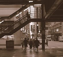 Under the Loop, Chicago by Richard Crutchley