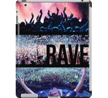 Rave iPad Case/Skin