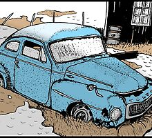 Volvo PV by Johan Malm