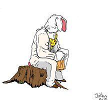 Easter bunny by Johan Malm