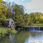 Autumn At Hyde's Mill Dam (est 1850) by wiscbackroadz