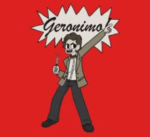 """The 11th Doctor Pilgrim-style--""""Geronimo!""""  by Mister Dalek and Co ."""