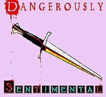 Dangerously Sentimental Dagger by IntrovertArt