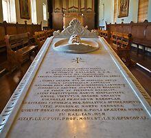Bishop Salvado's Tomb by Werner Padarin