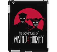 The Adventures of Mista J and Harley iPad Case/Skin