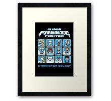 Super Freeze Fighter Framed Print