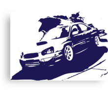 Subaru STI Canvas Print