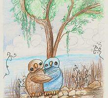 Hug by bevmostic
