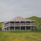 Old Queensland House - Painting by Sandy1949