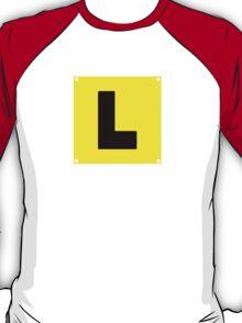 L plate Learner Driver T-Shirt
