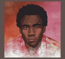 Childish Gambino Because the Internet T-Shirt by A-Gill