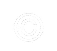 Letter C or Copyright Symbol by SmartTees