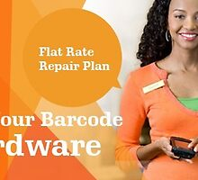 Flat Rate Repair Plan for your Barcode Hardware by Barcode Printers