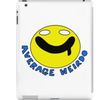 Average Weirdo logo iPad Case/Skin