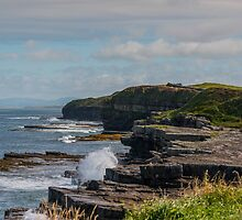 The coast at Mullaghmore, Sligo, Ireland by Mark Bangert
