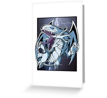Dragon with Blue-Eyes Greeting Card