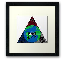 Collective Consciousness(more simple) Framed Print