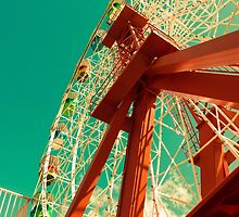 Ferris Wheel afternoon light by DavidMay