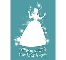 A Dream is a Wish... Photographic Print