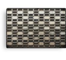 Binary Concrete Canvas Print