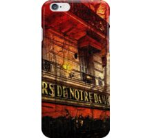 Vintage The Tours De Notre Dame iPhone Case/Skin