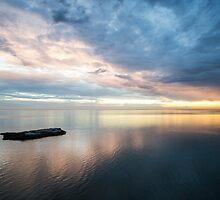 SHARK BAY SUNSET by marieleephoto